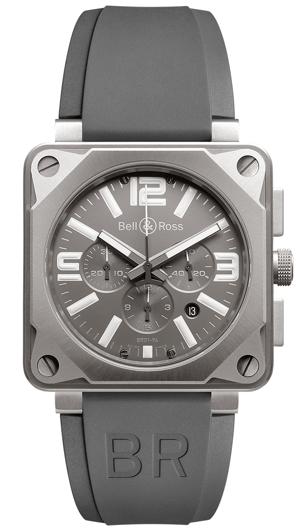 Bell & Ross Instruments BR0194-TI-PRO