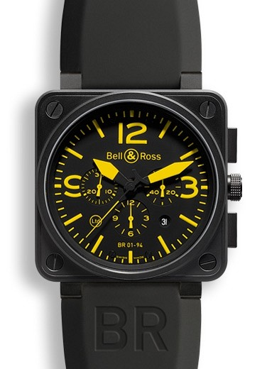 Bell & Ross Instruments BR0194YELLOW