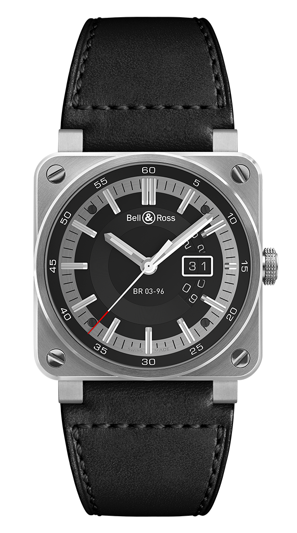 Bell & Ross Instruments BR0396-SI-ST